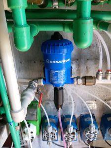 Dosatron aparat pentru dosajul spumei active