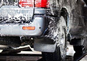 spuma activa pe masina
