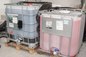 detergent auto import italia in containere IBC